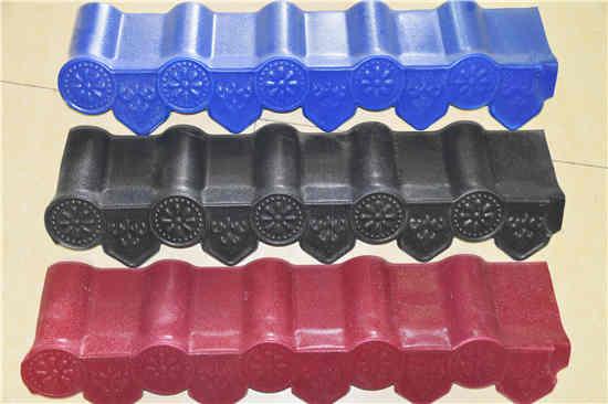 河南双捷公司 提供各种型号树脂瓦产品 可批发