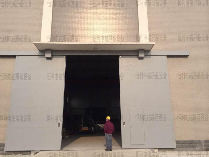 某大型厂区与合作使用超大防火门客户见证