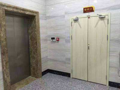 某办公楼使用恒利钢木防火门工程案例