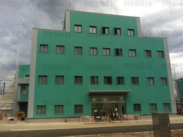 某工厂安装恒利防火门窗工程案例