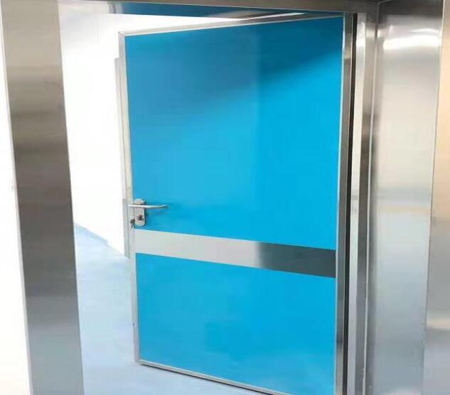 烤漆射线防护电动(手动)防护门