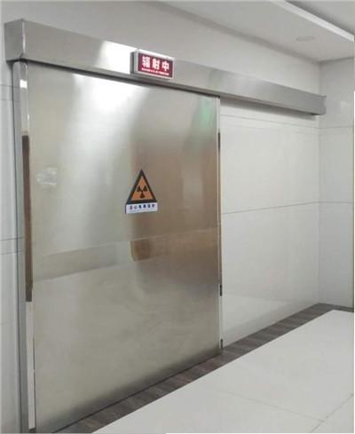 不锈钢电动(手动)射线防护门