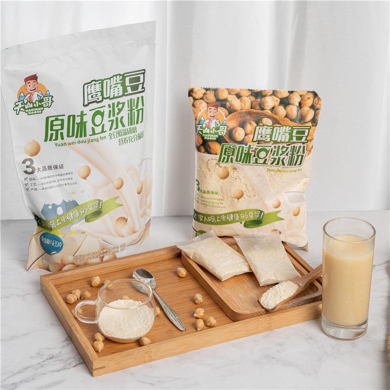 新疆鹰嘴豆豆浆粉案例