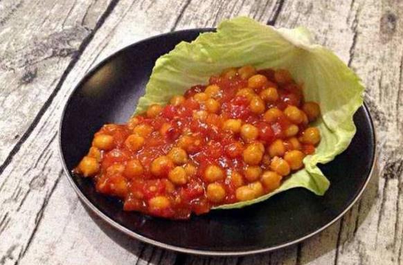 鹰嘴豆的这种做法你有吃过吗?
