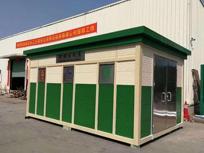 重庆垃圾分类房_小区户外垃圾房安装