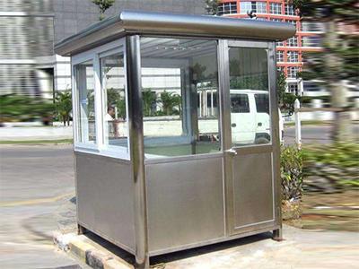 重庆某厂区收费岗亭安装示意效果图案例展示