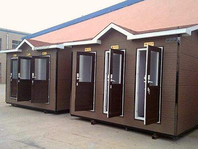 重庆移动厕所安装效果展示图