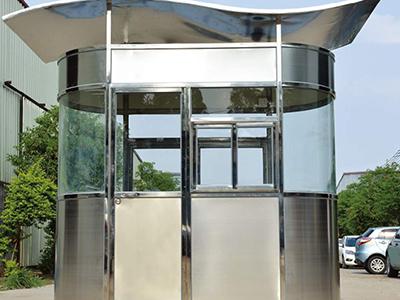 重庆岗亭-重庆不锈钢岗亭及治安岗亭的清洁技巧以及流程