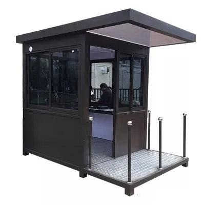重庆岗亭-金属雕花板岗亭的防水措施及优势