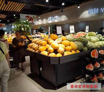蔬菜水果货架案例-青羊区邻你超市