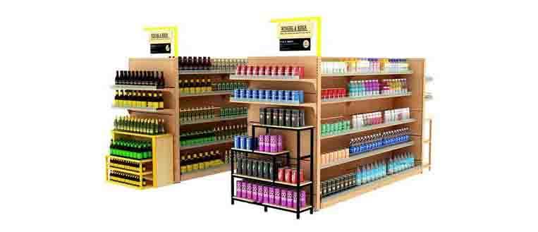 成都超市货架都具备哪些功能呢?倍强告诉你