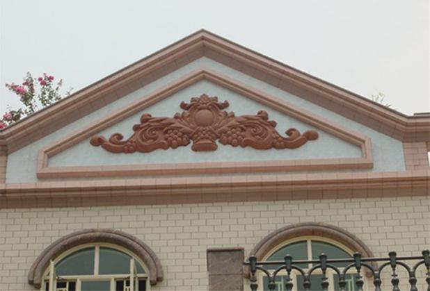 四川别墅装饰线条施工