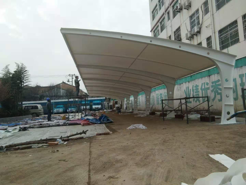 周至县供电局膜结构车棚(二期)
