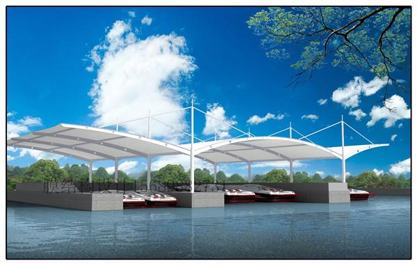 交通设施膜结构工程