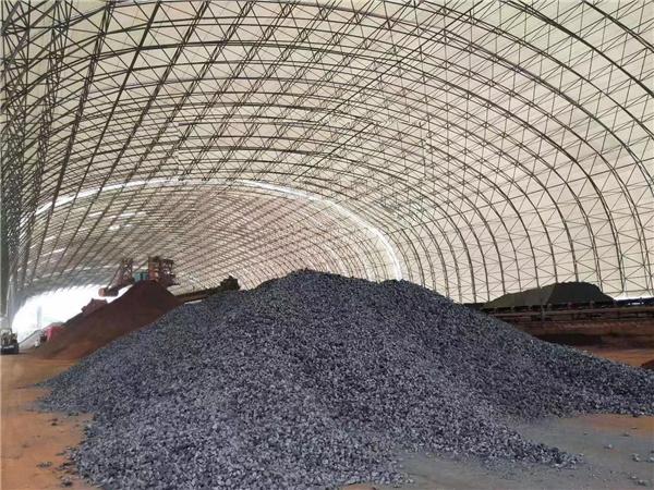 西安膜结构煤棚图片