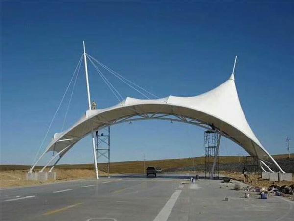 陕西交通设施膜结构图片