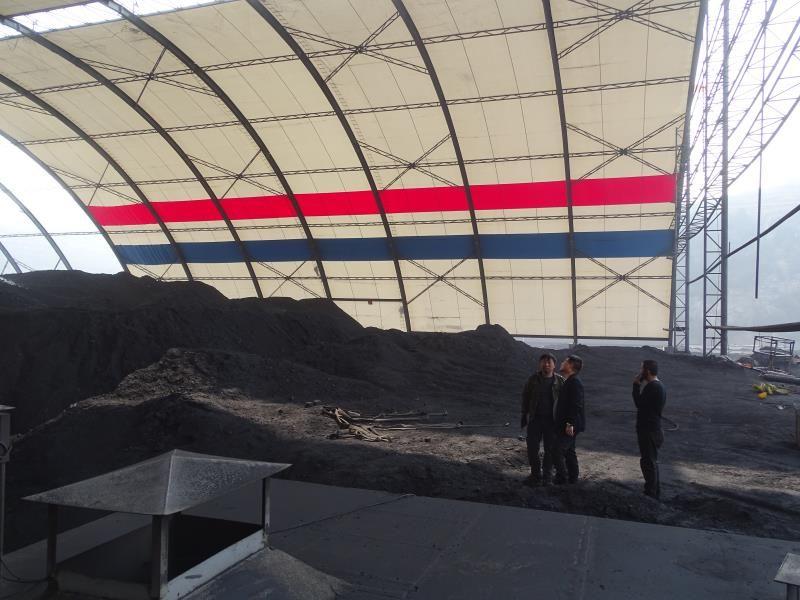 陕西膜结构煤棚工程