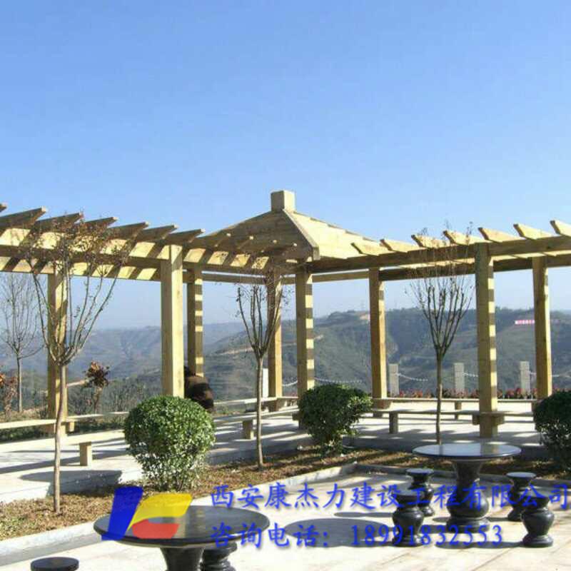 陕西防腐木结构生产