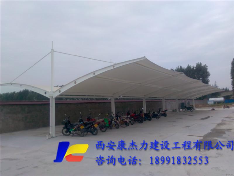 陕西膜结构看台使用的膜布在安装上的工艺流程