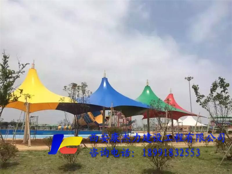 山东游泳池景观膜结构