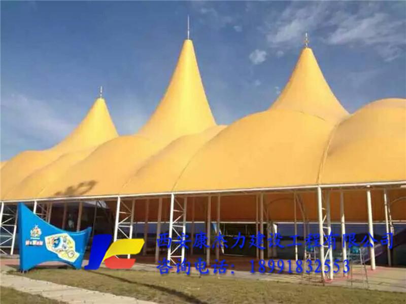 水上乐园膜结构遮阳棚