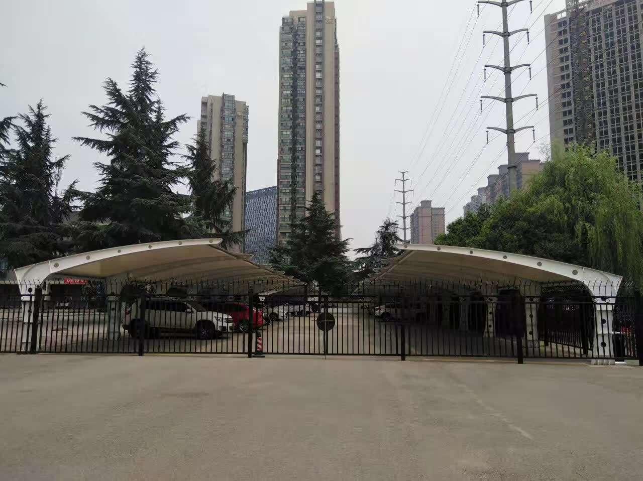 榆林膜结构车棚