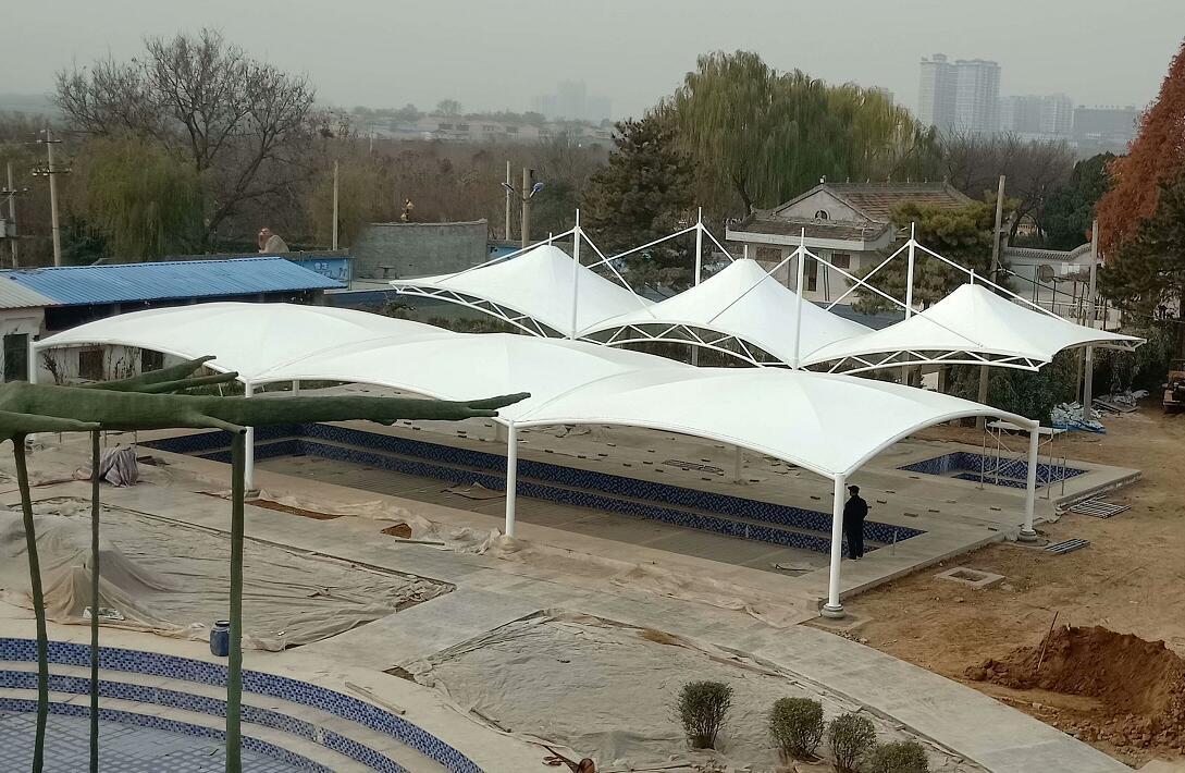 陕西泳池膜结构