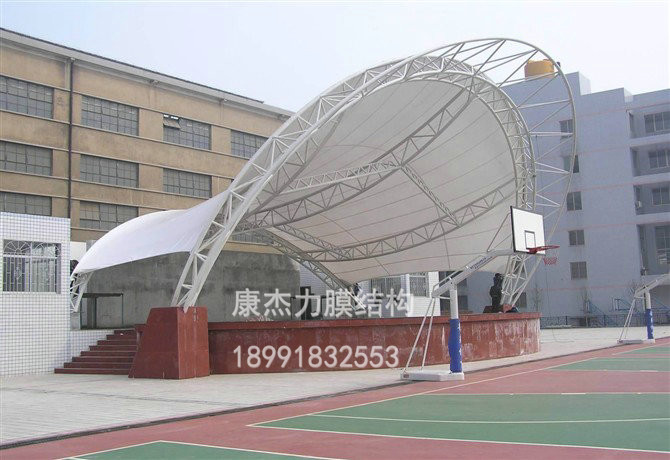 西安中学球场膜结构