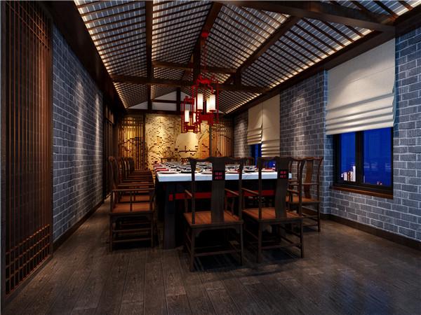 河南火锅店设计