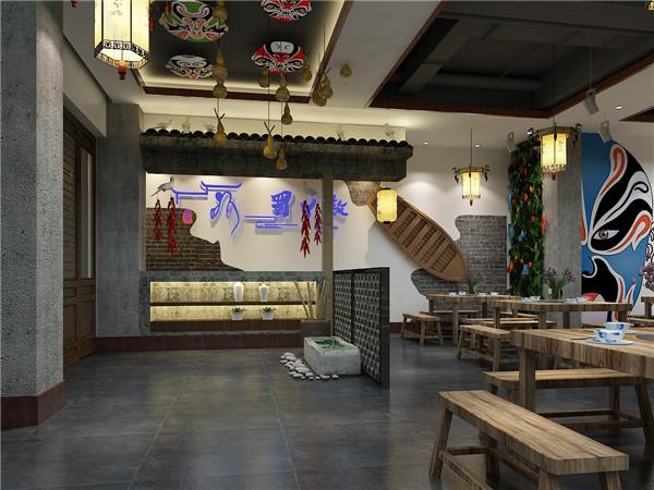 河南火锅店设计工程