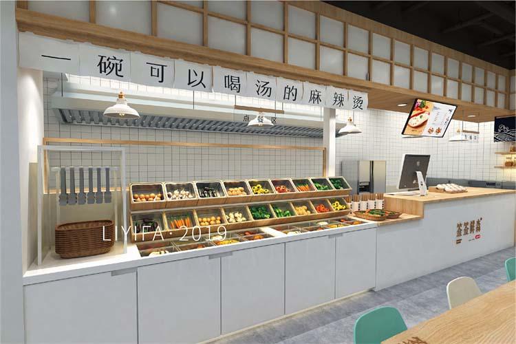 郑州自助餐厅设计