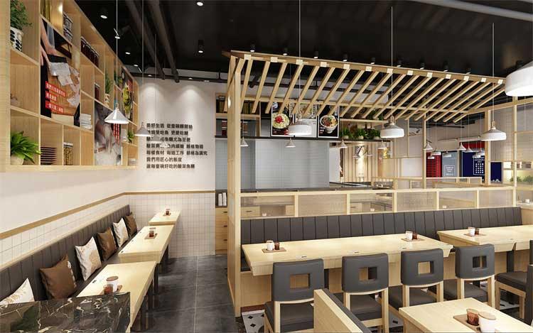 郑州中餐店装修