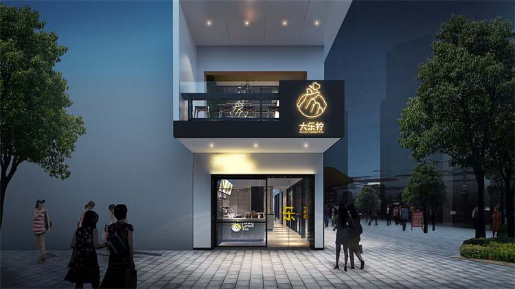 郑州西餐厅餐饮装修设计