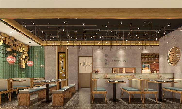 郑州快餐厅餐饮设计装修