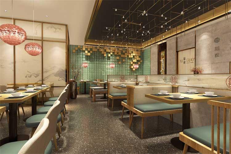 郑州快餐厅餐饮设计
