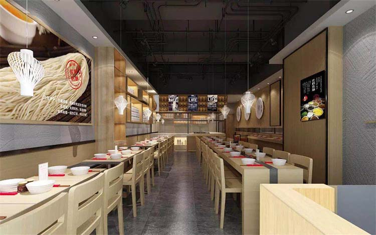 郑州自助餐厅装修