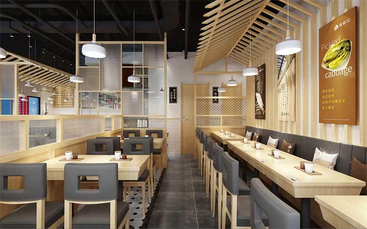 郑州中餐店装修设计方案
