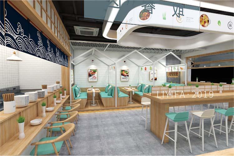 郑州自助餐厅设计案例