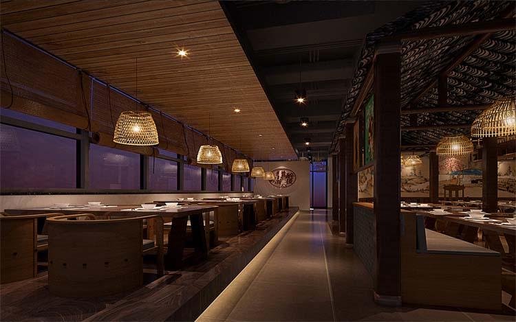 郑州烧烤烤肉店设计施工