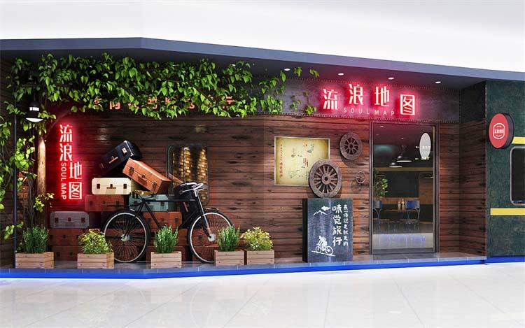 郑州烧烤烤肉店设计案例