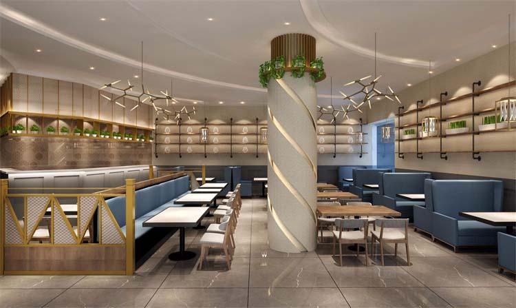 郑州特色小吃饭店设计案例