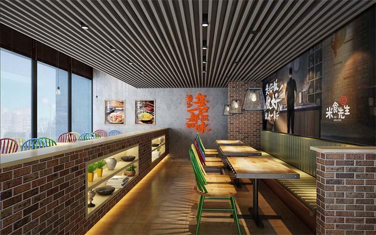 郑州主题餐厅装修案例