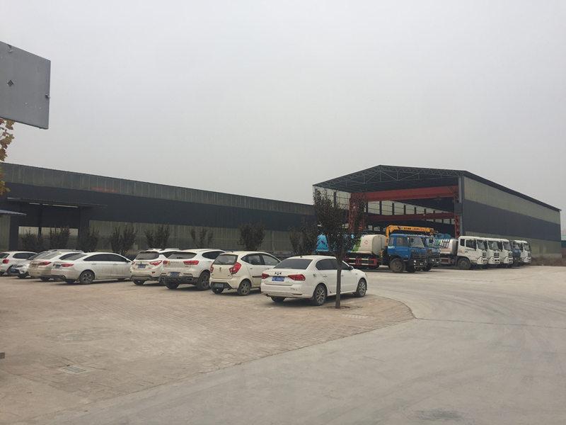 荔华钢结构厂区