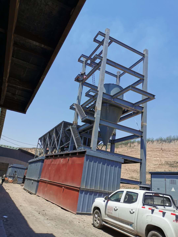 砖厂除尘设备框架