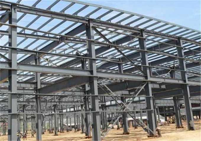 带你了解渭南钢结构的加工工艺