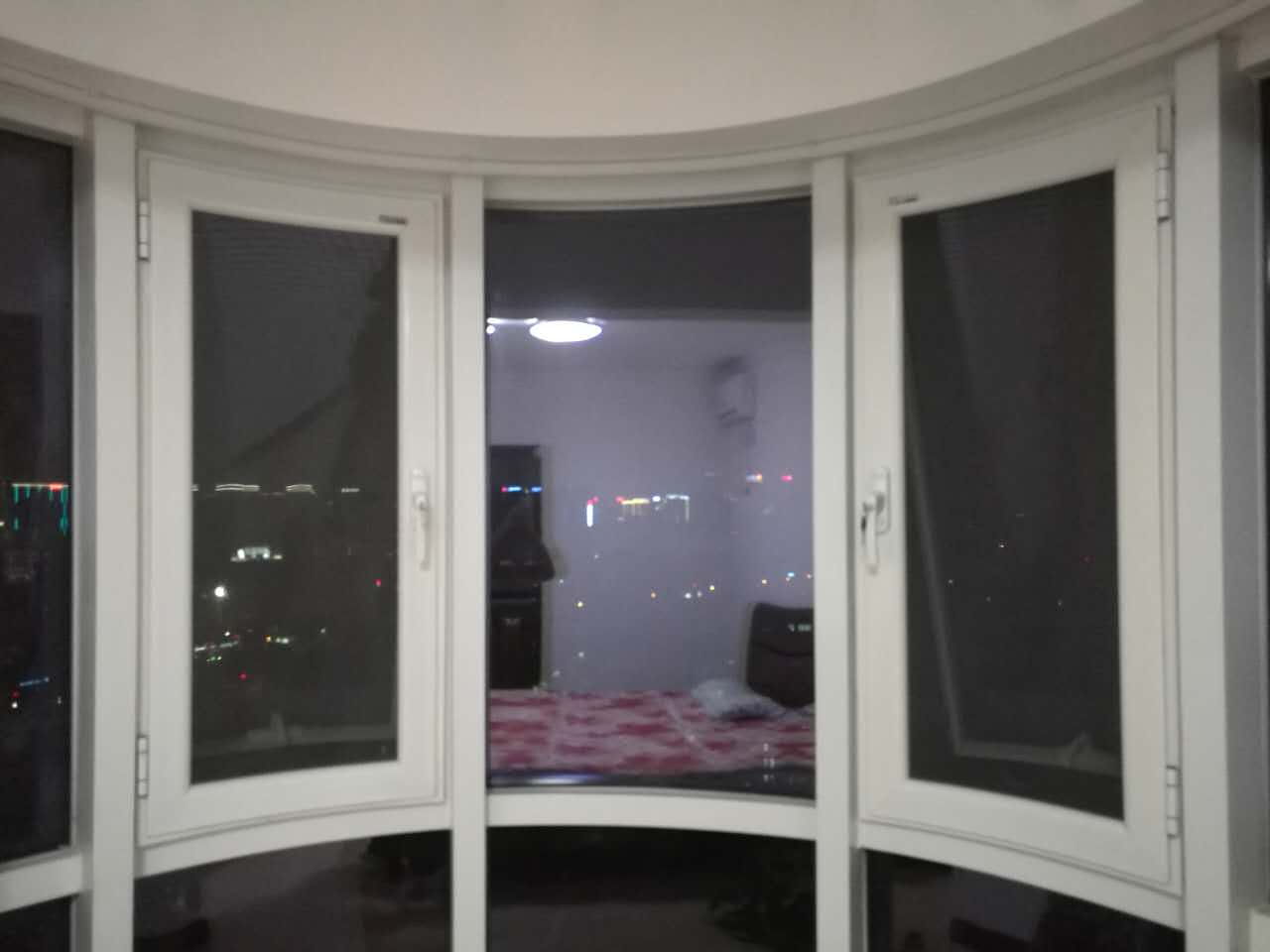 西安金刚网纱窗安装