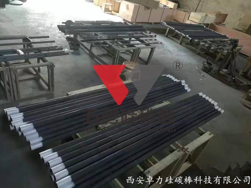 陕西西安GD(等直径)型硅碳棒案例