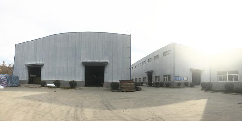 升腾轻钢结构厂区