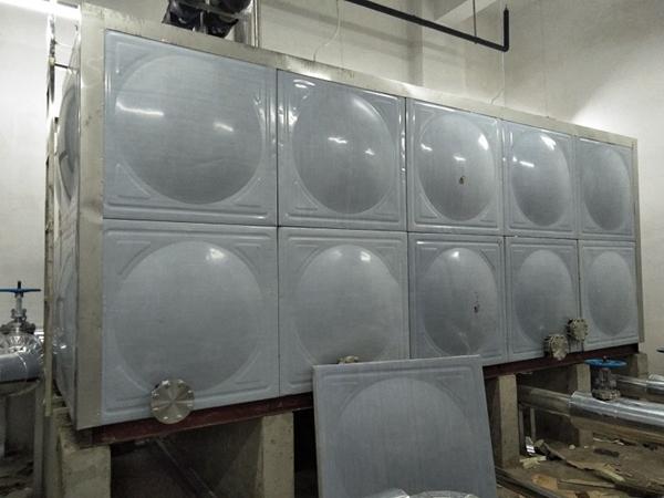石家庄装配式热镀锌水箱_污水处理水箱厂家