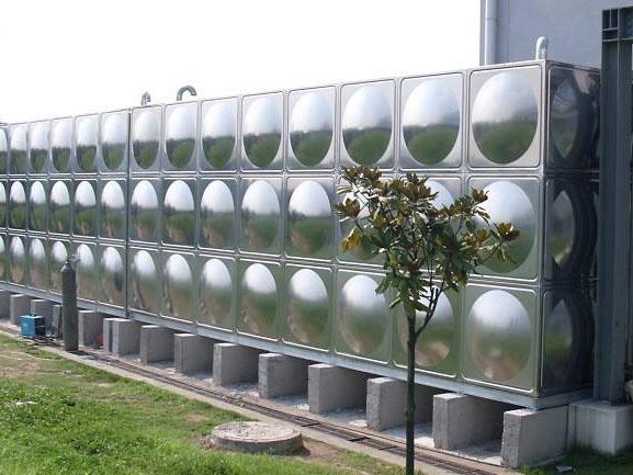 厂家直销不锈钢方形消防水箱